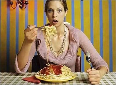 Частота вибраций различной пищи
