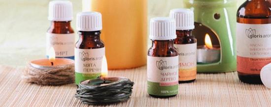 "эфирные масла ""Gloris Aroma"""